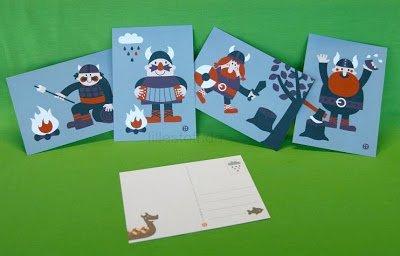 lillestoff Postkarten Bora