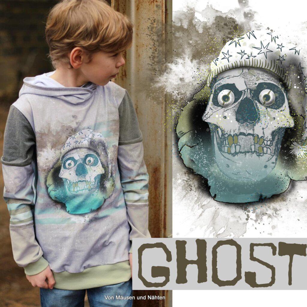 Stoff Ghost von Tante Gisi