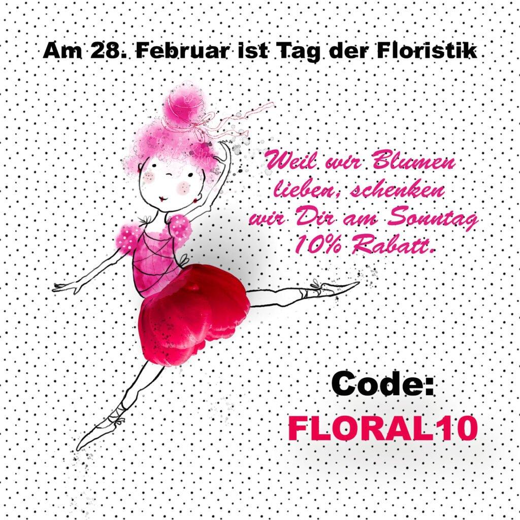 Am 28. Februar ist Tag der Floristik