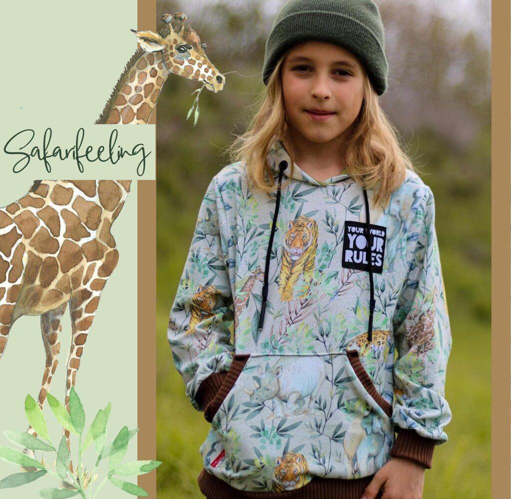 Stoff Safari von Tante Gisi
